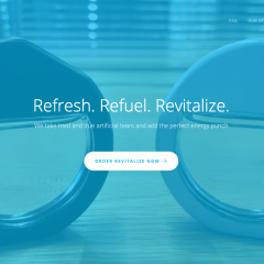 Revitalize Offers Innovative Way to Soothe Tired Eyes and Reenergize a Tired Mind