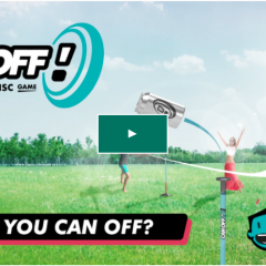 Plan for a Fun Spring and Summer with Canoff, the Flying Disc Game