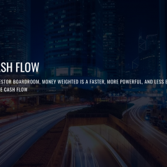 Money Weighted Makes Cash Flow Modeling Quick and Convenient
