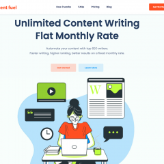 Content fuel delivers quality content for a convenient monthly rate