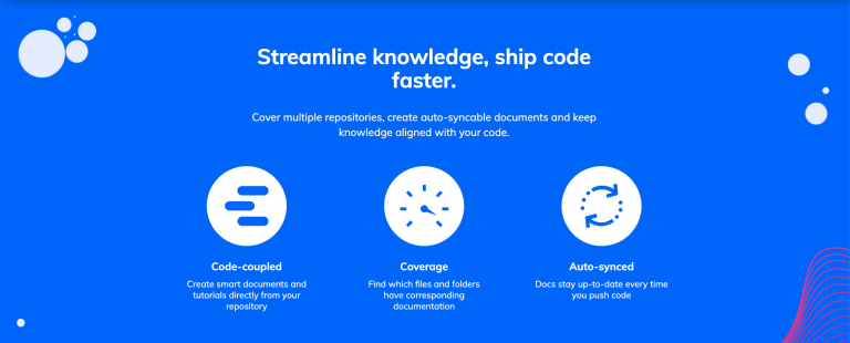 Keep your development process running smoothly with Swimm's auto-syncing documents