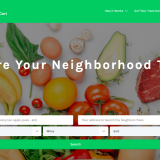 Buy or Sell Locally Grown, Organic Produce with Backyard Cart